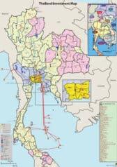 แผนที่ประเทศไทย - Thailand Investment Map